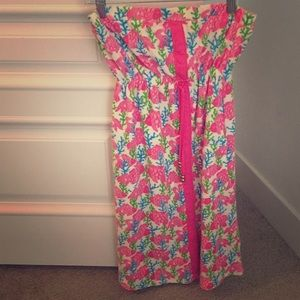 {Lilly Pulitzer beach cover up}
